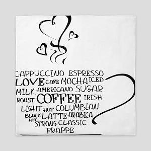 Coffee Cup Queen Duvet