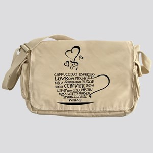 Coffee Cup Messenger Bag