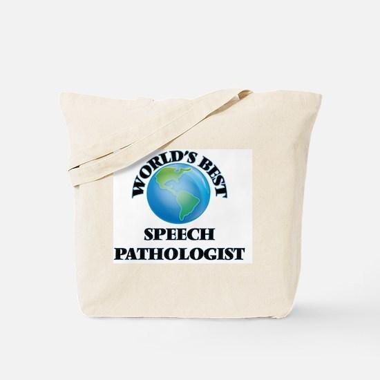 World's Best Speech Pathologist Tote Bag