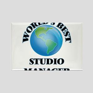 World's Best Studio Manager Magnets