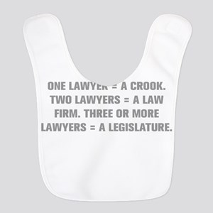 ONE LAWYER A CROOK TWO LAWYERS A LAW FIRM THREE OR