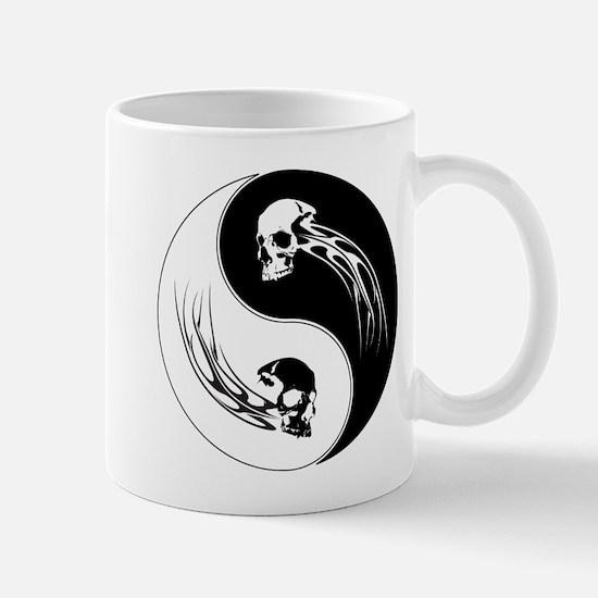 Yin Yang Skulls Mug