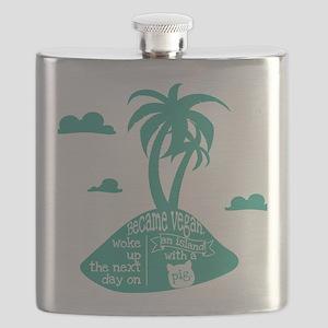 Pig island Flask