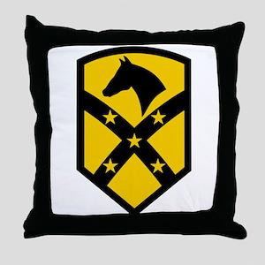 15th Sustainment Brigade Throw Pillow