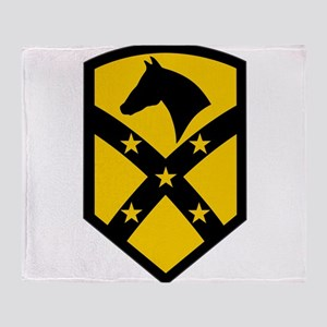 15th Sustainment Brigade Throw Blanket
