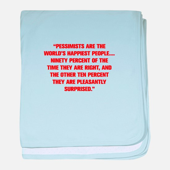 PESSIMISTS ARE THE WORLD S HAPPIEST PEOPLE NINETY