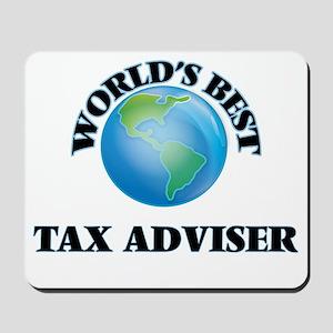 World's Best Tax Adviser Mousepad