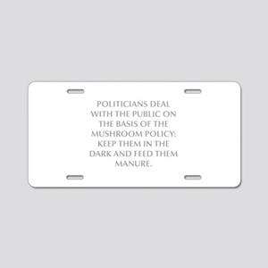 POLITICIANS DEAL WITH THE PUBLIC ON THE BASIS OF T