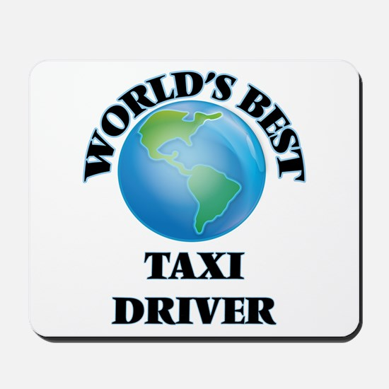 World's Best Taxi Driver Mousepad