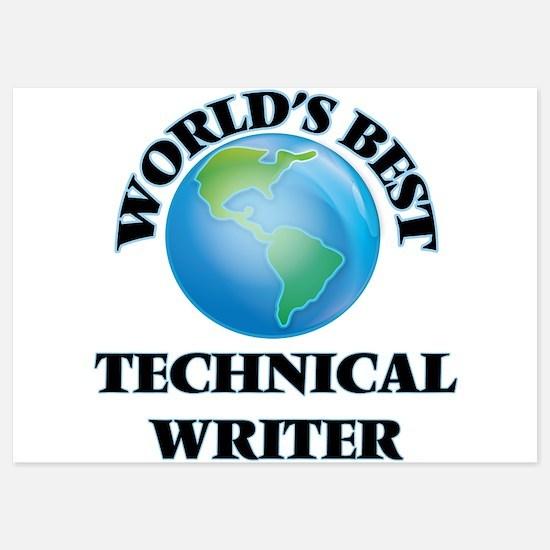 World's Best Technical Writer Invitations