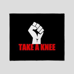 Take a Knee Throw Blanket