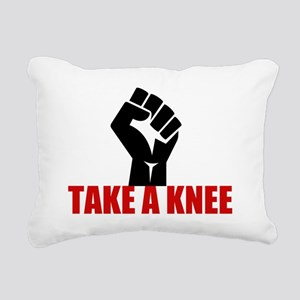Take a Knee Rectangular Canvas Pillow