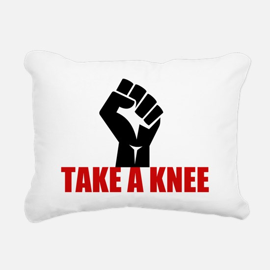 Take a Knee Rectangular Canvas Pillow