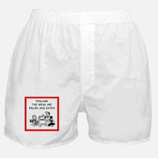 finland Boxer Shorts
