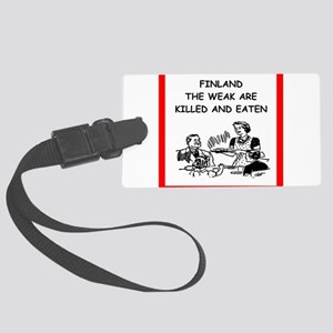 finland Luggage Tag