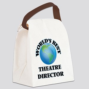 World's Best Theatre Director Canvas Lunch Bag