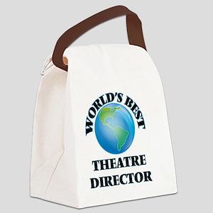 World's Best Theatre Director Canvas Lunch Bag