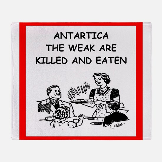 antartica Throw Blanket