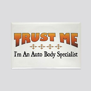 Trust Auto Body Specialist Rectangle Magnet
