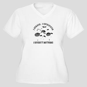 Parachuting Plus Size T-Shirt