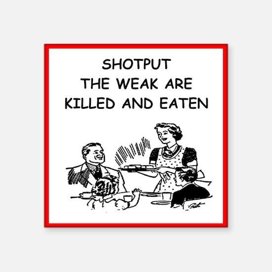 shotput Sticker
