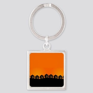 Pumpkins! Square Keychain