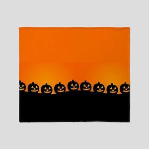 Pumpkins! Throw Blanket