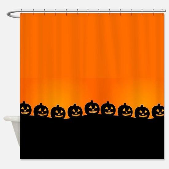 Pumpkins! Shower Curtain