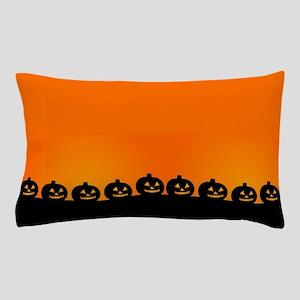 Spooky Halloween Pumpkins Pillow Case