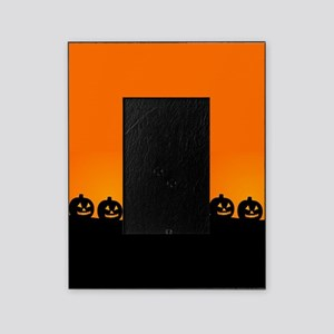 Spooky Halloween Pumpkins Picture Frame