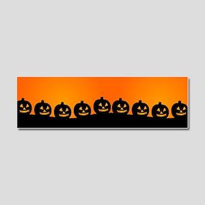 Pumpkins! Car Magnet 10 x 3
