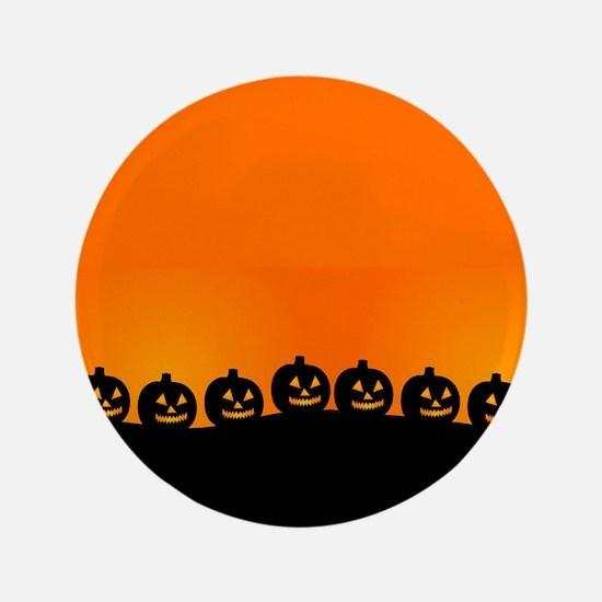 """Pumpkins! 3.5"""" Button"""