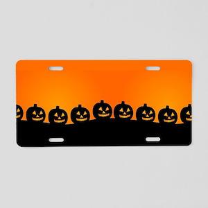 Pumpkins! Aluminum License Plate