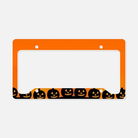 Pumpkins! License Plate Holder