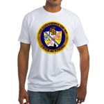 USS ALEXANDRIA Fitted T-Shirt