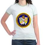 USS ALEXANDRIA Jr. Ringer T-Shirt