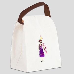 Roaring Twenties Canvas Lunch Bag