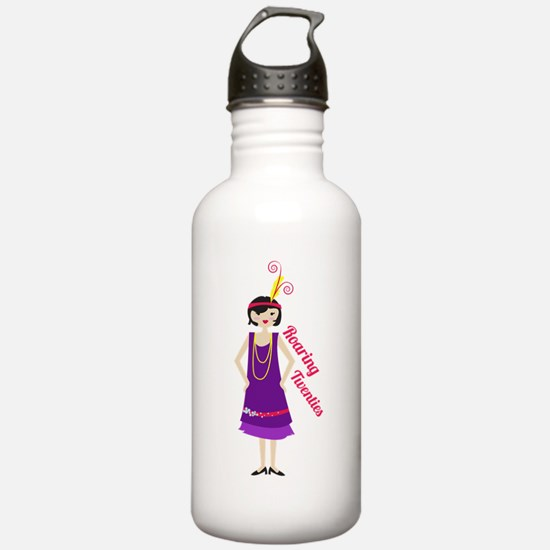 Roaring Twenties Water Bottle