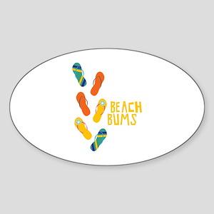 Beach Bums Sticker