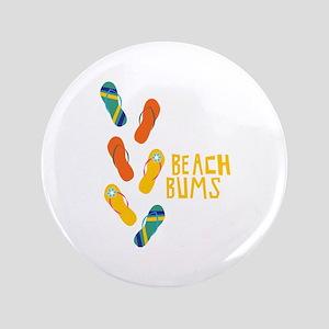 "Beach Bums 3.5"" Button"