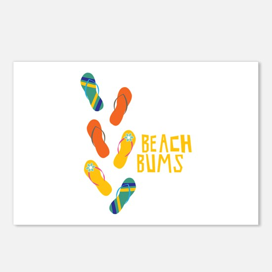 Beach Bums Postcards (Package of 8)
