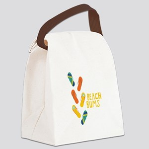 Beach Bums Canvas Lunch Bag
