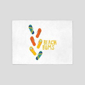 Beach Bums 5'x7'Area Rug