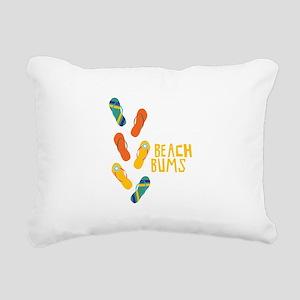 Beach Bums Rectangular Canvas Pillow
