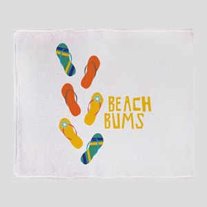 Beach Bums Throw Blanket