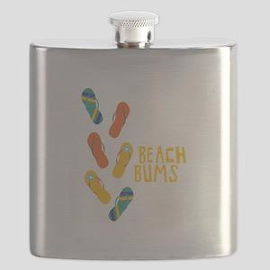 Beach Bums Flask