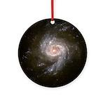 NGC 3310 Starburst Galaxy Christmas Tree Ornament