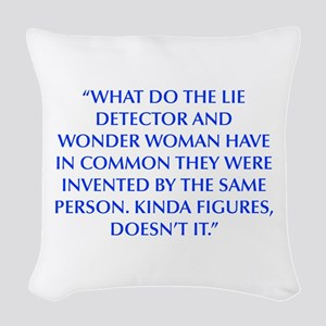 WHAT DO THE LIE DETECTOR AND WONDER WOMAN HAVE IN
