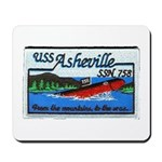 USS ASHEVILLE Mousepad