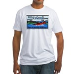 USS ASHEVILLE Fitted T-Shirt